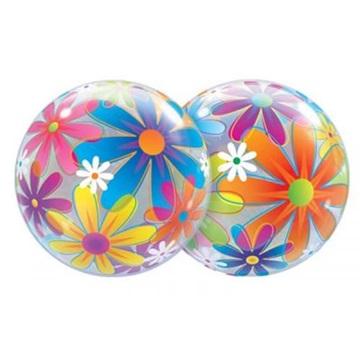 Obrázek Foliová bublina Květiny 56cm