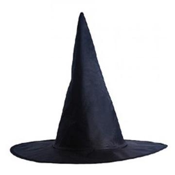 Obrázek Čarodejnický klobouk černý