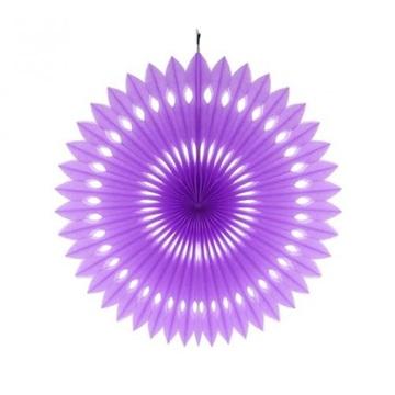 Obrázek Dekorační rozeta fialová - 40 cm