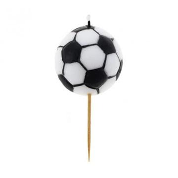 Obrázek Dortová svíčka fotbalová