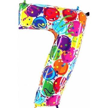 Obrázek Foliová číslice - balonková 7