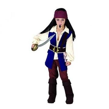Obrázek Dětský kostým Pirát z Karibiku 110 - 120 cm