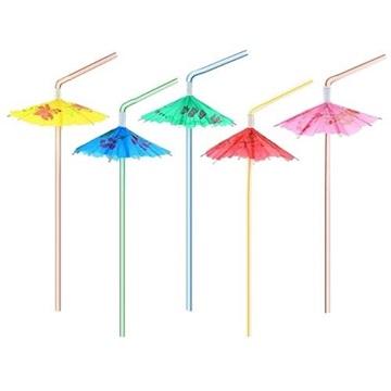 Obrázek Brčka s deštníčkem - 6ks