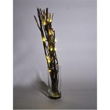 Obrázek Dekorační větvičky se světýlky - tmavé