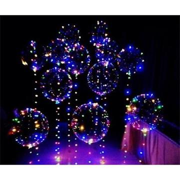 Obrázek Balonek s LED světelným řetězem 45cm