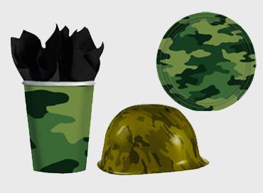Obrázek pro kategorii Vojenská party