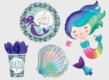 Obrázek pro kategorii Party s mořskou pannou