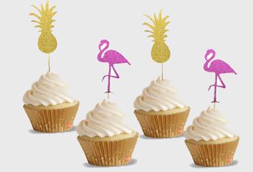 Obrázek pro kategorii Košíčky a doplňky na cup cakes