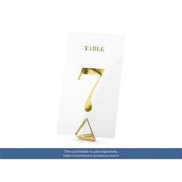Obrázek Transparentní čísla na stůl 20 ks