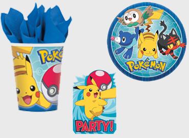 Obrázek pro kategorii Pokemon party