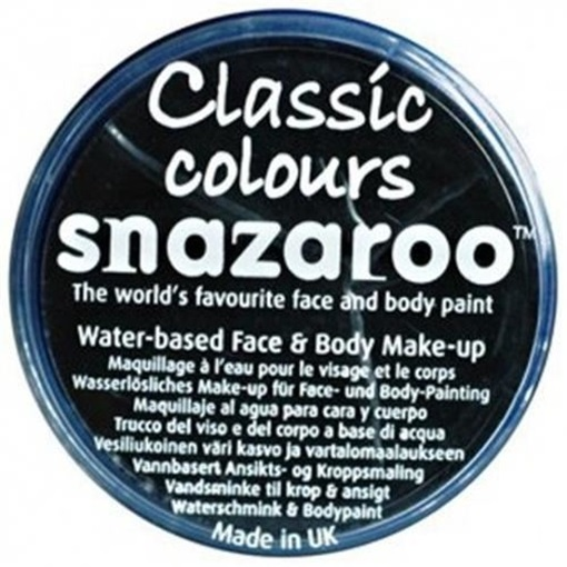 Obrázek z Barva na obličej Snazaroo - černá 18 ml