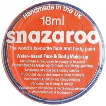 Obrázek Barva na obličej Snazaroo - oranžová - Orange 18 ml