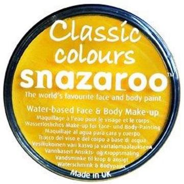 Obrázek Barva na obličej Snazaroo - žlutá - Bright Yellow 18 ml