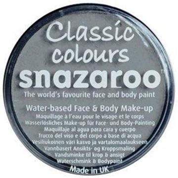 Obrázek Barva na obličej Snazaroo - šedá - Light Grey 18 ml