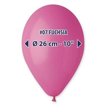 Obrázek Balonky 26 cm - tmavě růžové 100 ks