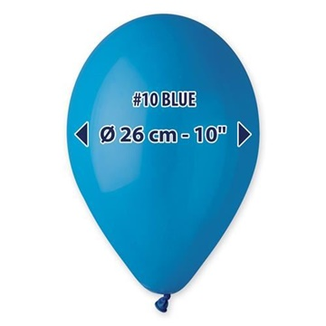 Obrázek Balonky 26 cm - modré 100 ks