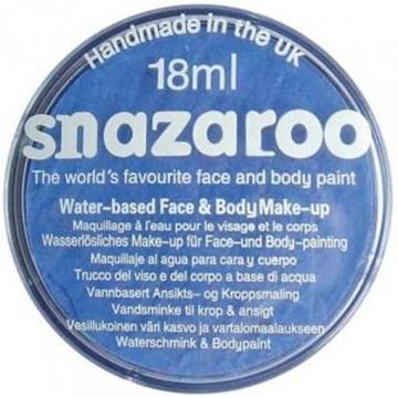 Obrázek Barva na obličej Snazaroo - modrá - Sky blue 18 ml
