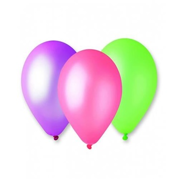 Obrázek Latexový balonek Neonový - Florescenční  26 cm