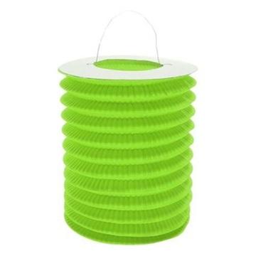 Obrázek Závěsmý lampion válec - zelený