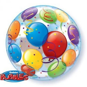 Obrázek Foliová bublina balonky 56 cm