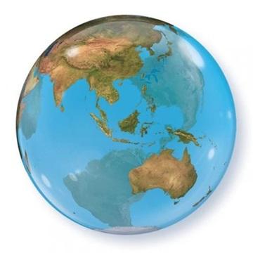 Obrázek Foliová bublina Planeta Země 56 cm