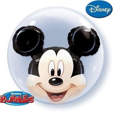 Obrázek Dvojitá foliová bublina Mickey Mouse 61cm