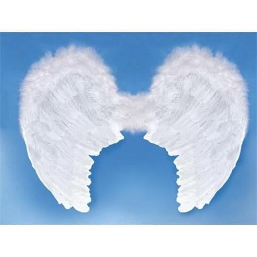 Obrázek z Andělská křídla bílá - velká 80 x 60 cm