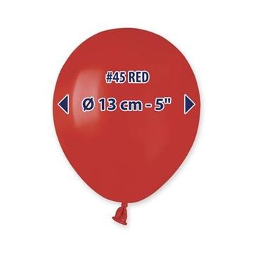 Obrázek Balonky 13 cm - červené - 100 ks