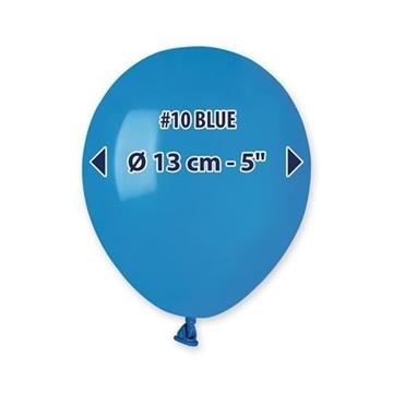 Obrázek Balonky 13 cm - modré - 100 ks