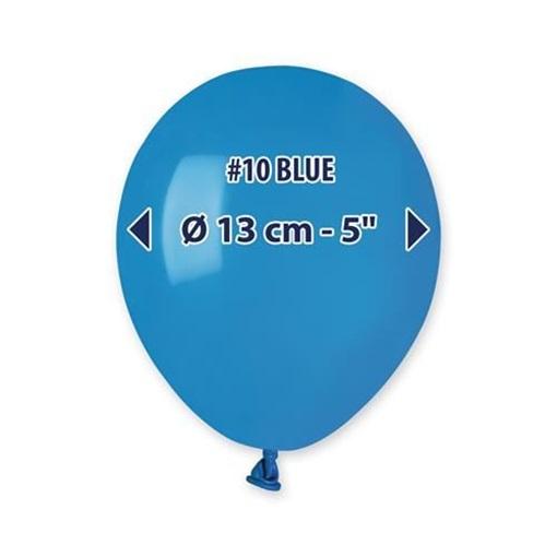 Obrázek z Balonky 13cm - modré - 100ks