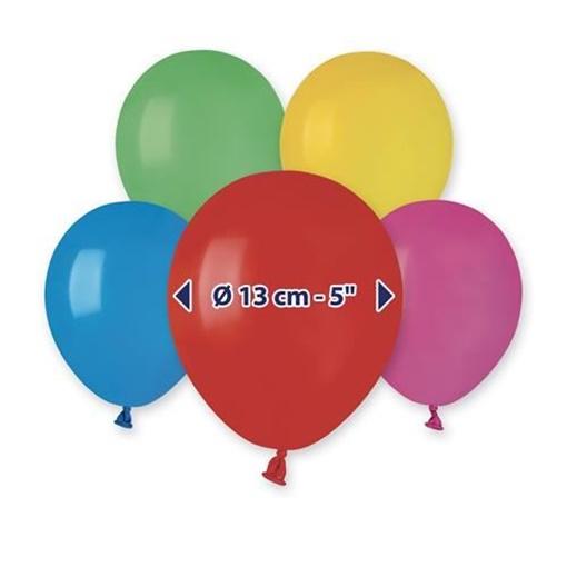 Obrázek z Balonky 13 cm - mix barev - 100 ks
