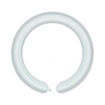 Obrázek Modelovací balonky profesionální - 100 ks - bílé