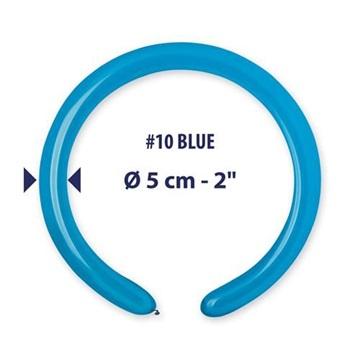 Obrázek Modelovací balonky profesionální - 100 ks - modré