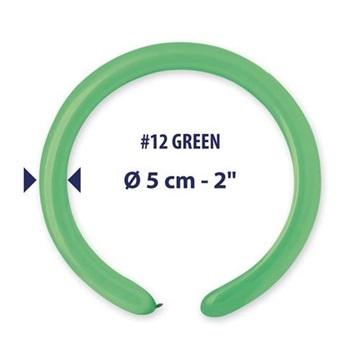 Obrázek Modelovací balonky profesionální - 100 ks - zelené