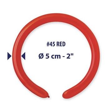 Obrázek Modelovací balonky profesionální - 100 ks - červené