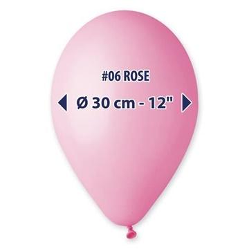 Obrázek Balonky 30 cm - růžové 100 ks