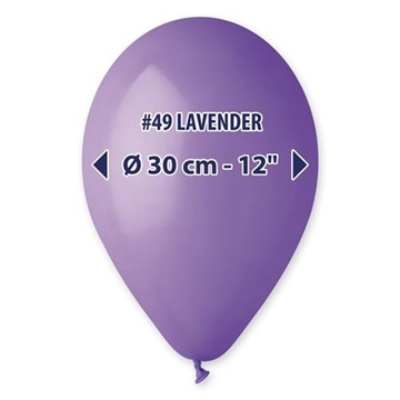 Obrázek Balonky 30 cm - fialové 100 ks