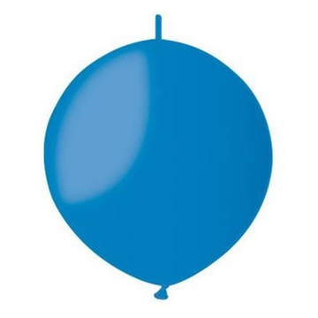 Obrázek Spojovací balonek modrý pastelový 32cm