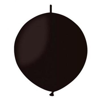 Obrázek Spojovací balonek černý pastelový 32cm