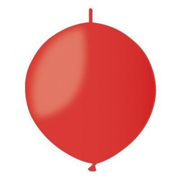 Obrázek Spojovací balonek červený pastelový 32cm