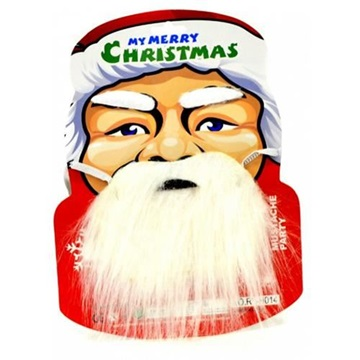 Obrázek Sada Santa Claus - plnovous s obočím