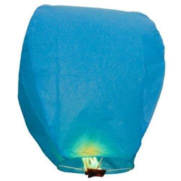 Obrázek Létající lampion přání - modrý