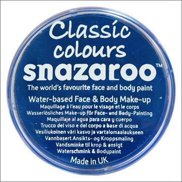 Obrázek Barva na obličej Snazaroo - tmavě modrá - Royal Blue 18 ml
