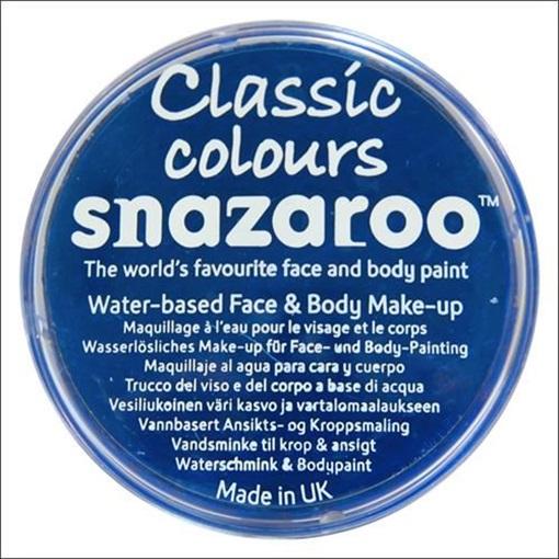 Obrázek z Barva na obličej Snazaroo - tmavě modrá - Royal Blue 18 ml