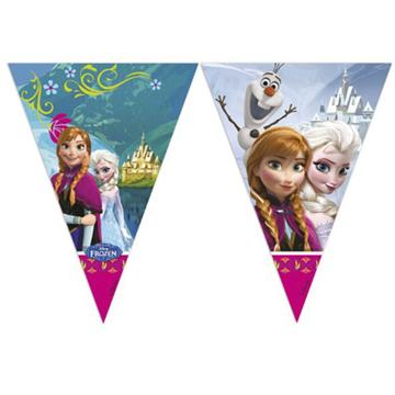 Obrázek Vlaječková girlanda Frozen - Ledové Království