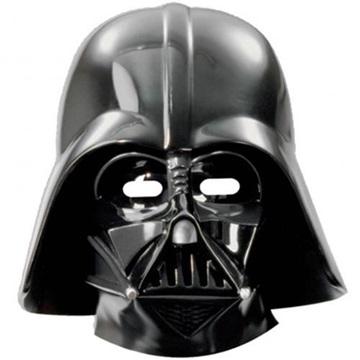 Obrázek Party papírové masky Darth Vader 6 ks