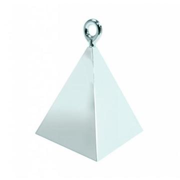 Obrázek Pyramidové závaží Qualatex stříbrné