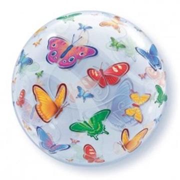 Obrázek Foliová bublina motýlci 56 cm