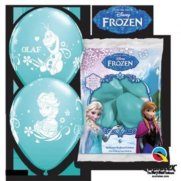 Obrázek Latexové balonky Frozen Ledové království - 6 ks