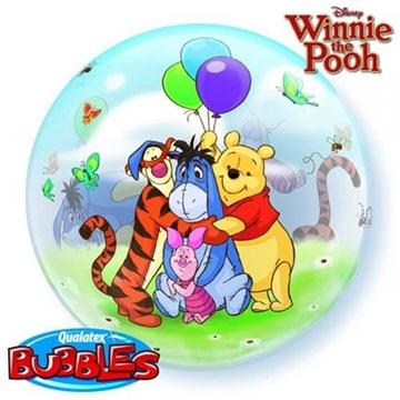 Obrázek Foliová bublina Medvídek Pú a přátelé 56 cm